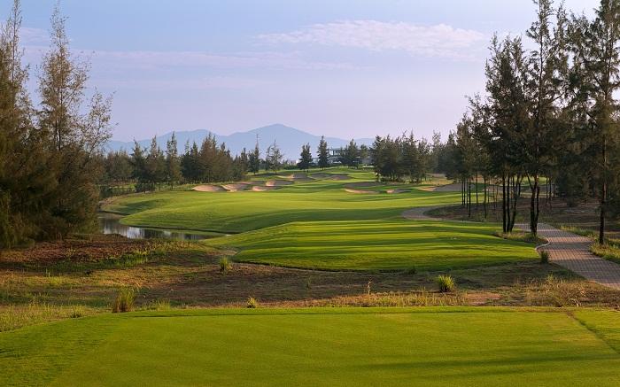 Kết quả hình ảnh cho giải golf giao hữu tại resort hội an trong tuần lễ apec