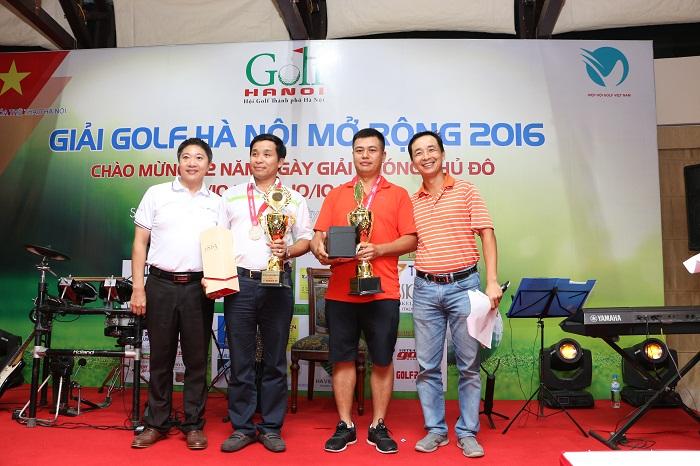 Bảng B, HDC 12 - 20 các golf giành chiến thắng là Lê Ngọc Tuấn (Nhì), Lê Quý Hồng Bảo (Nhất) và Đặng Tất Thành (VĐ).