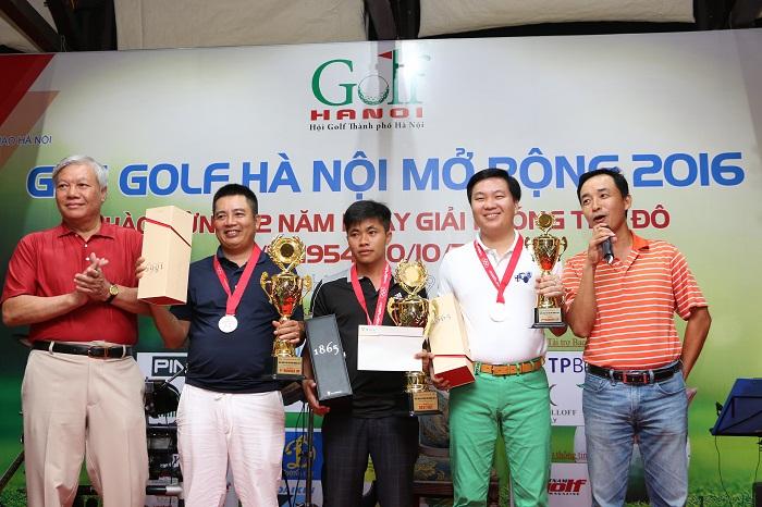 Bảng A, HDC 0 - 11 golfer vô địch là Nguyễn Hữu Quyết, nhất là Phạm Tiến Dũng và nhì là Phạm Văn Tuấn.