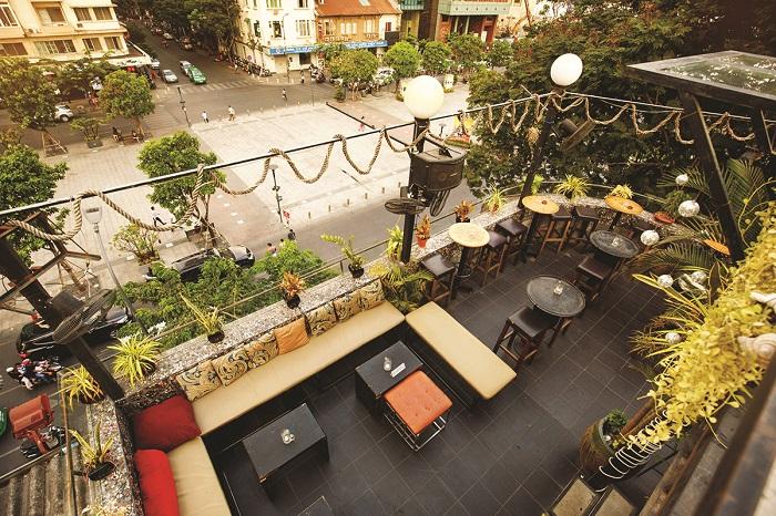 City Garden Exterior 2 - View nhìn toàn cảnh thành phố