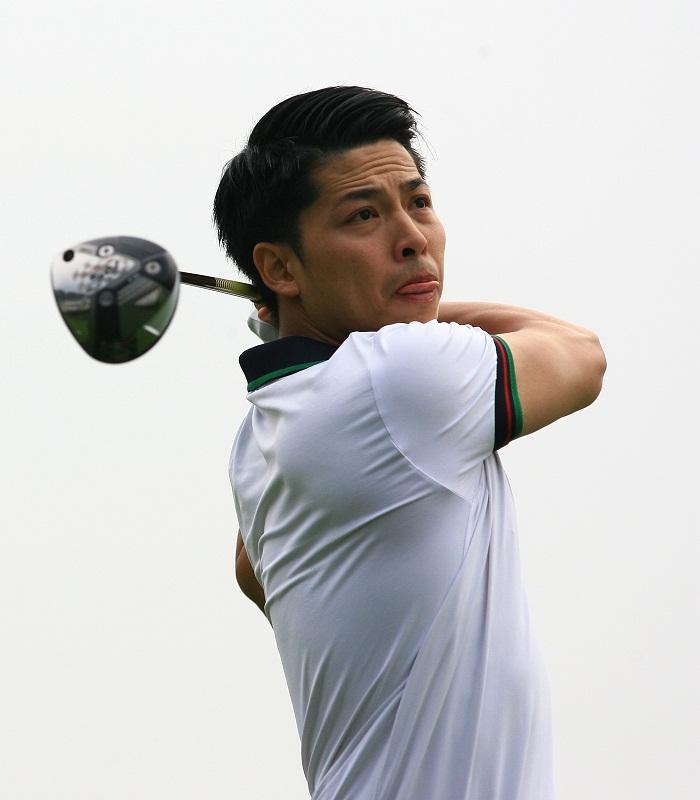 Golfer Nguyễn Thái Dương