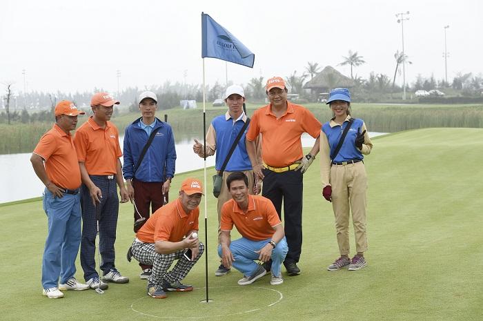 Golfer Nguyễn Văn Quế ghi điểm HIO tại giải Faros Golf Tournament, tổ chức tại sân golf FLC Samson Golf Links