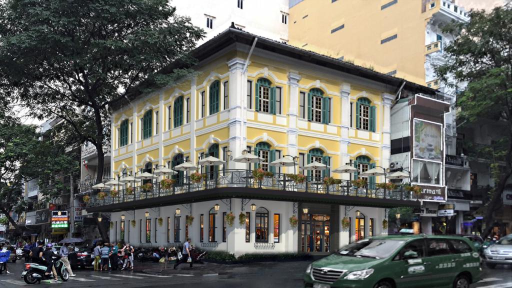 Vietnam House Facade