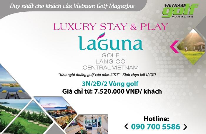 Trải nghiệm golf & nghỉ dưỡng tại Laguna Lăng Cô