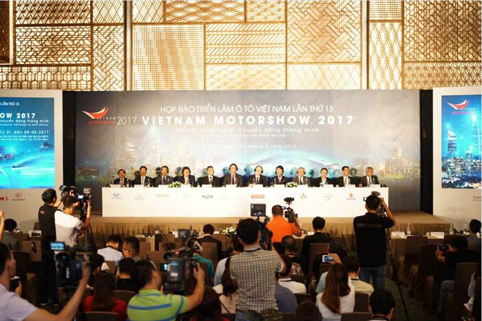 Họp báo VMS 2017 (Ảnh 1)