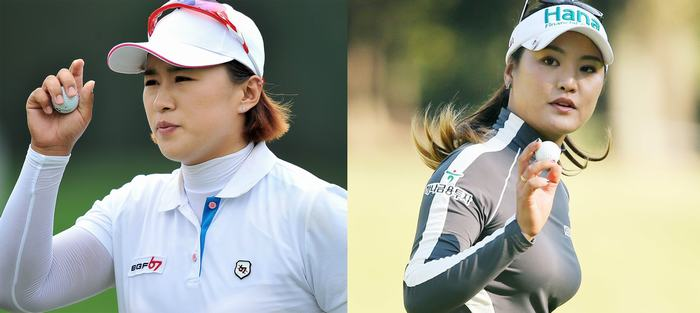 Amy Yang (trái), So Yeon Ryu (phải)