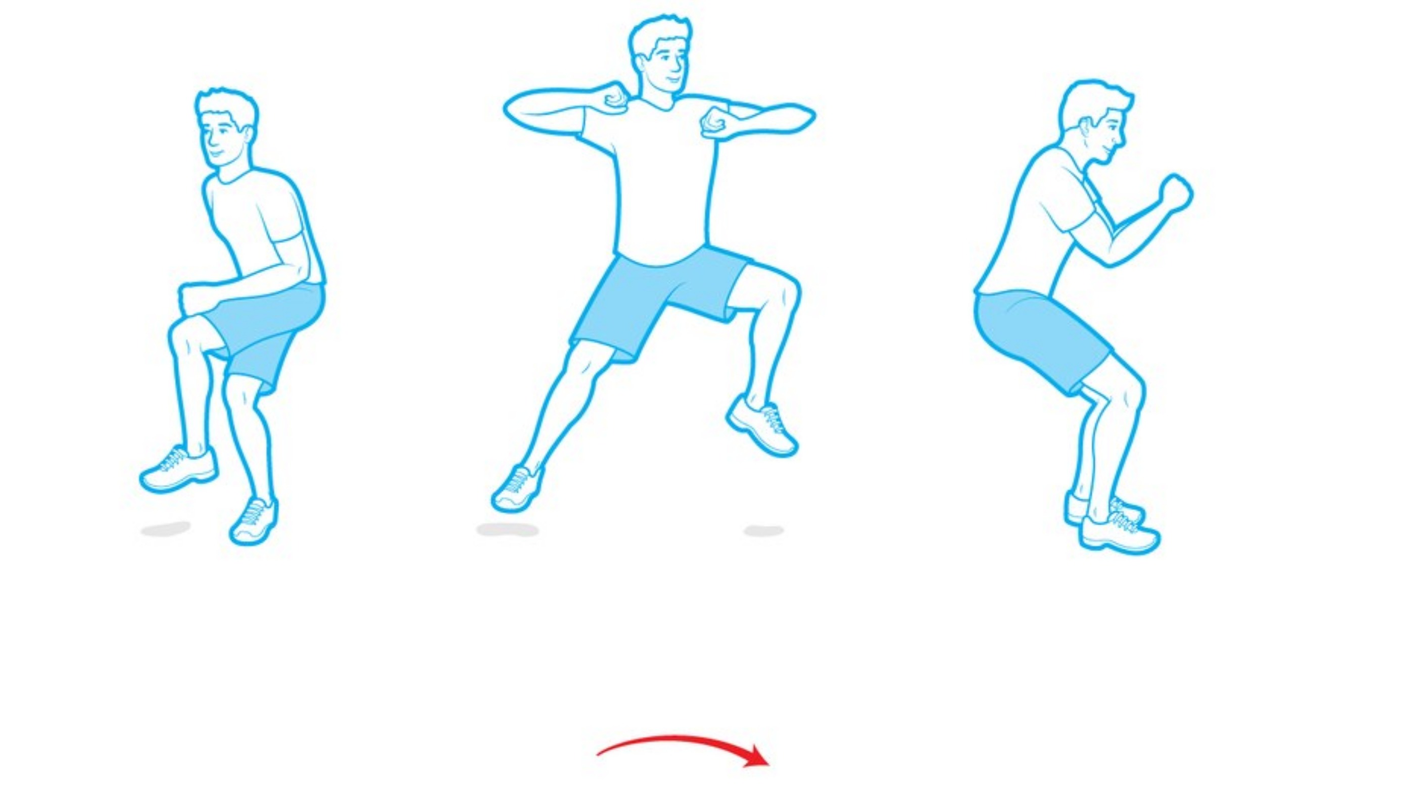 ONE-LEGGED LATERAL JUMP