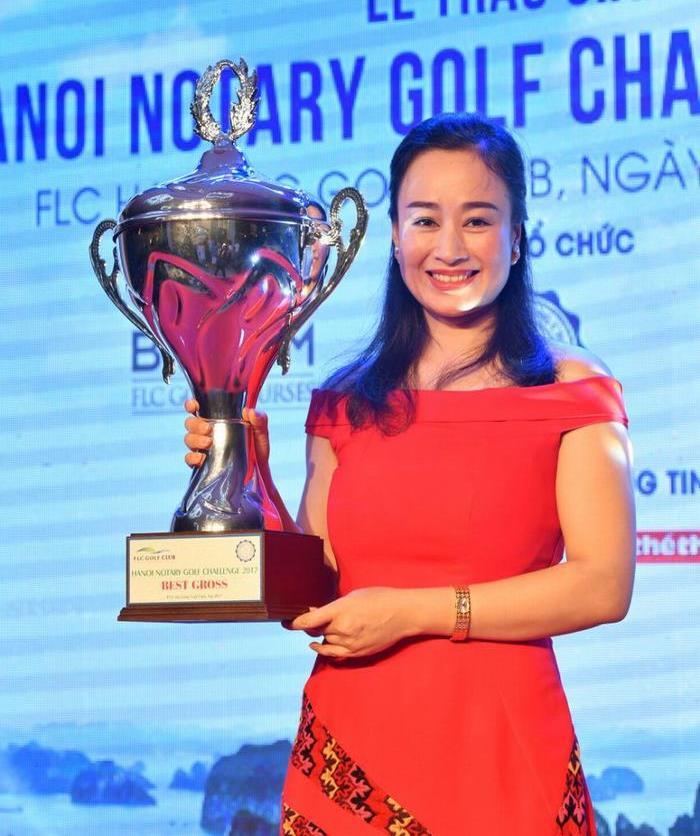 Golfer Trần Mai Anh