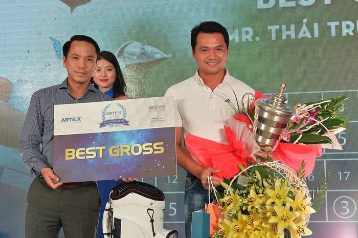 Thái Trung Hiếu vô địch giải Artex Golf Tournament 2017
