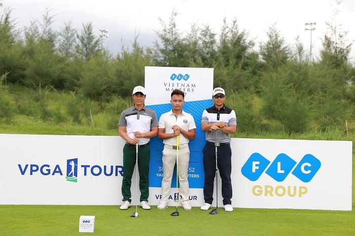 3 golfer Doãn Văn Định, Lê Hữu Giang và Phạm Minh Đức. Photo: Duy Dương