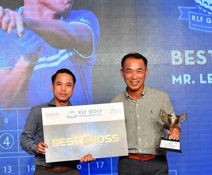 Golfer Lee Ahn Hwan