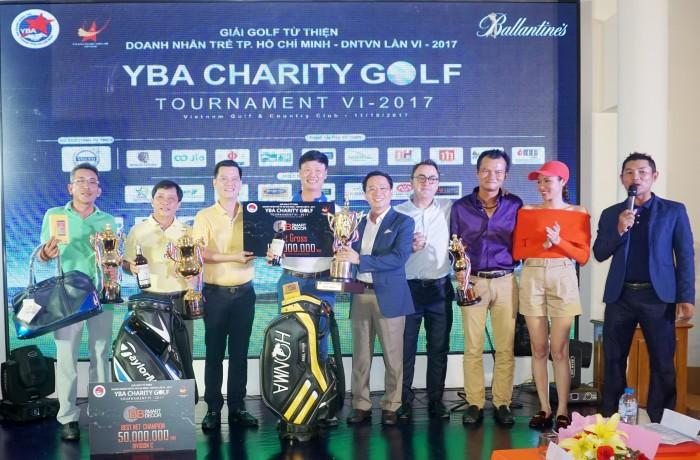 Nhà vô địch thuộc về Golfer Đinh Viết Sinh