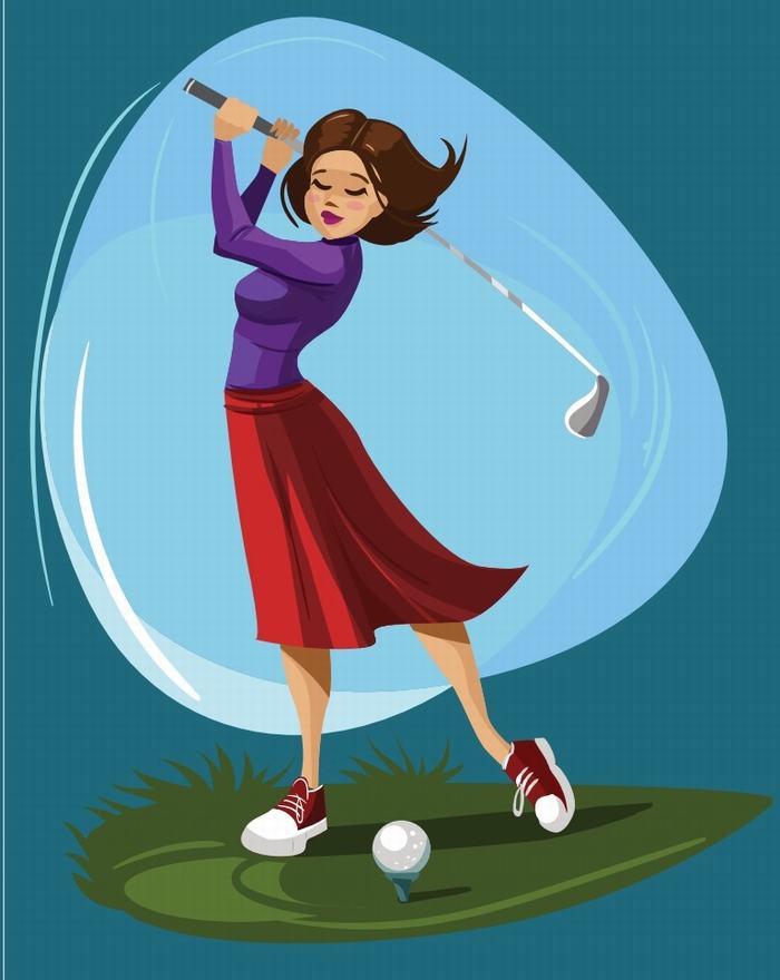 Kết quả hình ảnh cho bình tĩnh khi chơi golf