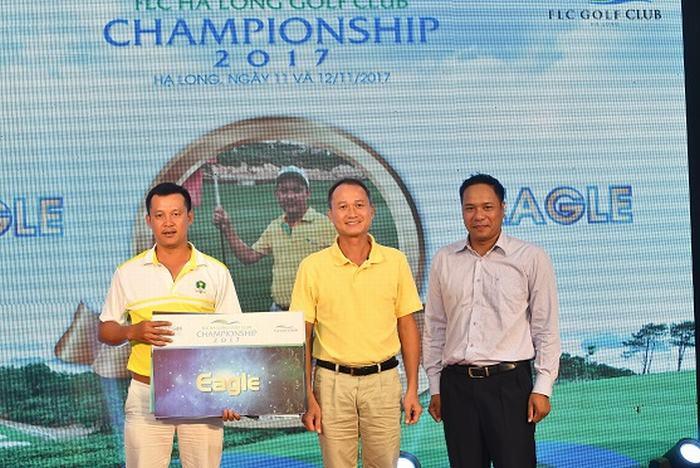 Golfer Phạm Quang Huy