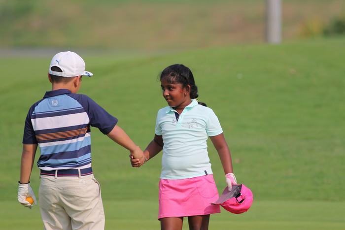 Golfer Elina Veejay