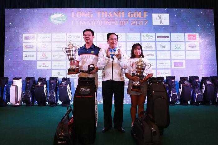 Nguyễn Hữu Hải và Joung Sun Mi vô địch Giải Long Thành 2017