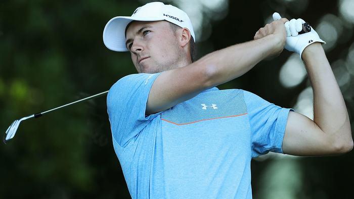 Jordan Spieth có vòng golf -7