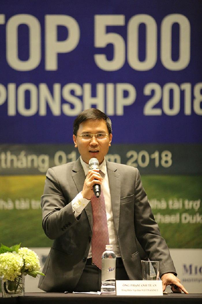 TBT Báo VietNamNet Ông Phạm Anh Tuấn