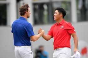 Thomas Pieters giành điểm quyết định trước Byeong-Hun
