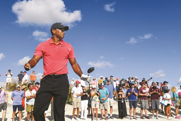 Tiger Woods tại Hero World Challenge 2017