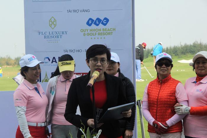 Bà Bùi Hải Huyền – phó Tổng giám đốc Tập đoàn FLC