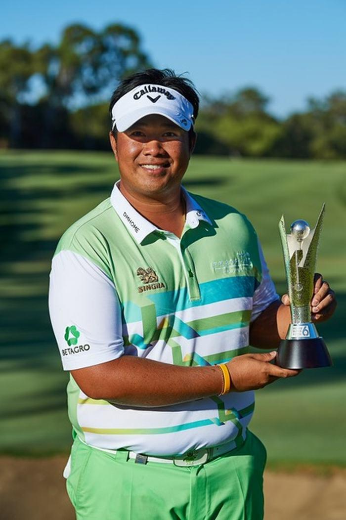 Tay golf người Thái Kiradech Aphibarnrat lên ngôi vô địch