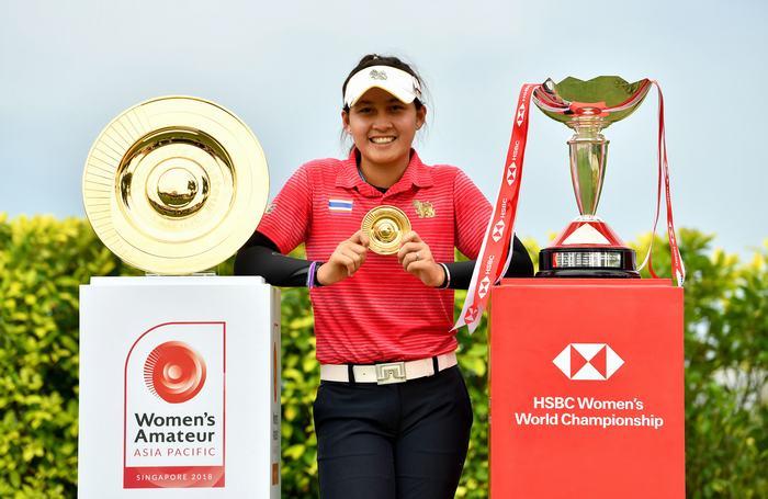 Atthaya Thitikul, winner of the WAAP 2018