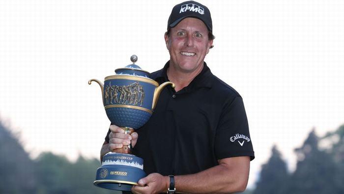 Phil Mickelson có chức vô địch thứ 43 trong sự nghiệp
