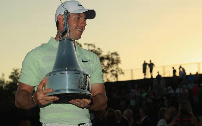 Rory McIlroy giành danh hiệu PGA Tour thứ 14 trong sự nghiệp