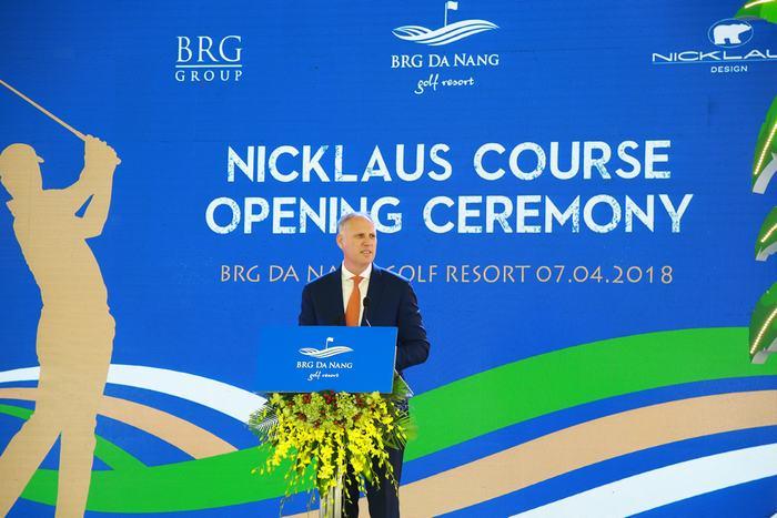 Ông Mark Reeves, Giám đốc khối Phát triển Gôn, Tập đoàn BRG