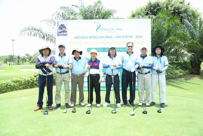 Giải Golf Bông Lúa Vàng 2018