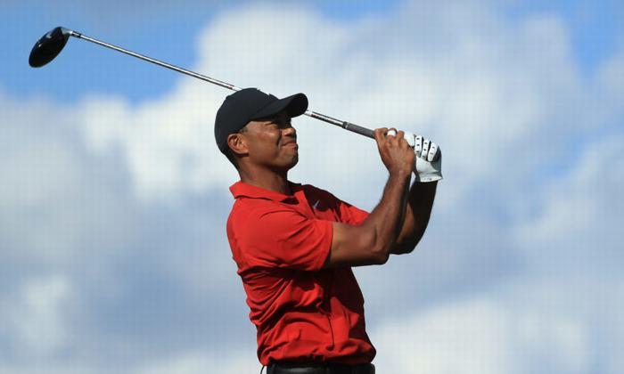 Tiger Woods có kết thúc đáng tiếc ở những hố đấu cuối