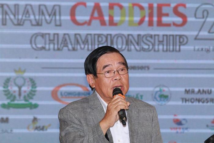 Ông Phạm Tiến Vân - Trưởng BTC giải