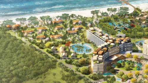 On Phu Quoc, Radisson Blu will unveil 514 rooms, suites and villas, a restaurant, two bars, a VIP lounge, large swimming pool, kid's club and more on July 14.