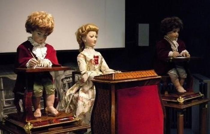 3 cỗ Automata huyền thoại: The Writer, The Musician và The Draughtsman