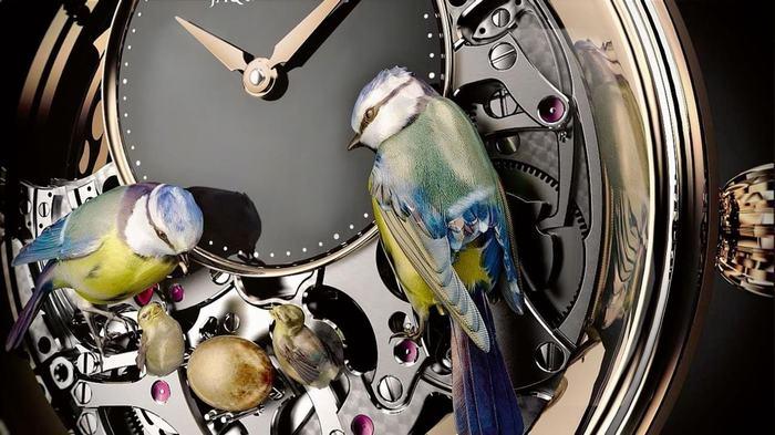 The Bird Repeater – tuyệt tác đông hồ Automata của Jaquet Droz