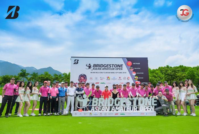 Hệ thống giải Bridgestone Asean Amateur Open 2018