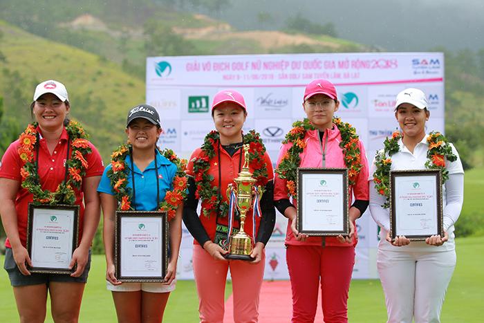 Top 5 Golf thủ bảng Vô địch Quốc gia
