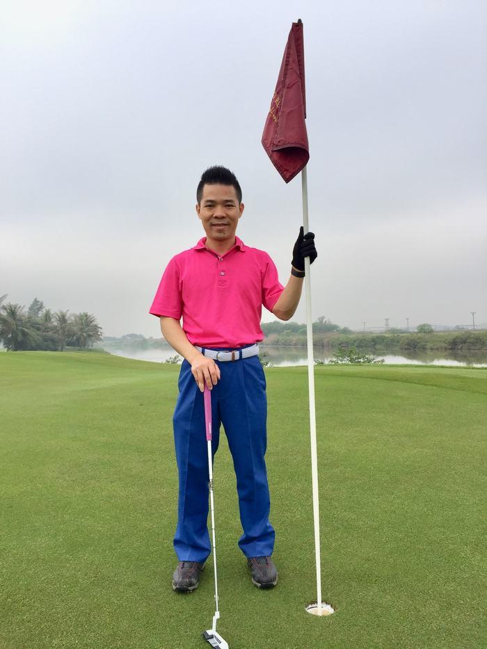 Golfer tham gia giải đấu BNI OPEN CHAMPIONSHIP 2018. Ảnh minh họa. Nguồn:BNI