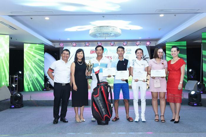 4 golfer giành suất đi Thái Lan