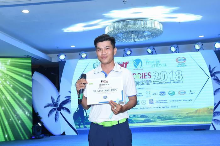 Golfer giành suất đi Hàn Quốc