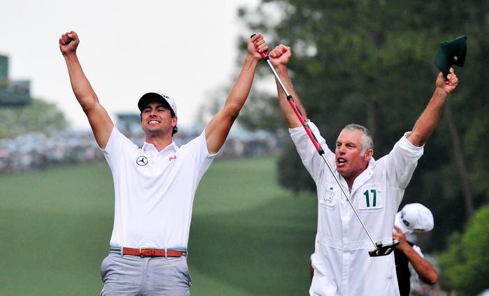 Steve Wiliiams cùng Adam Scott vô địch The Masters 2013