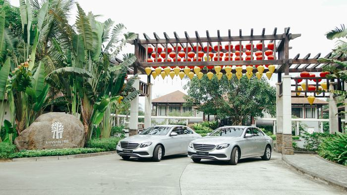 The E-Class is a symbol of Mercedes-Benz in Vietnam