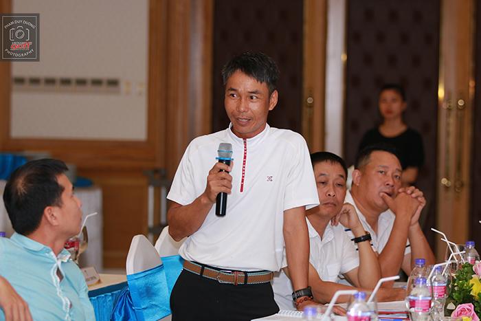 Trọng tài R&A Level 2, Trần Văn Cơ trả lời những câu hỏi về luật thi đấu