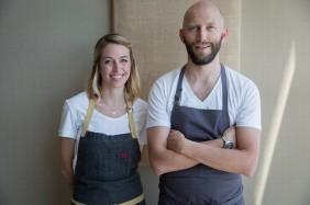 Chefs Carrie & Rupert Blease