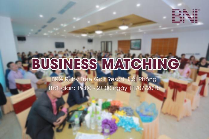 Business Matching tại giải Golf BNI Open Championship 2018. Ảnh minh họa. Nguồn BNI