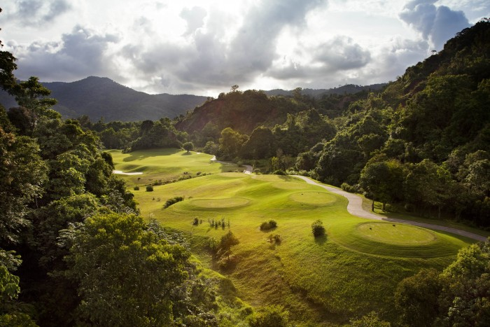 Red Mountain Golf Club is the best expensive golf fee in Phuket with 7100 Bath for 18 holes
