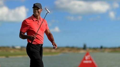 Tiger Woods ở vị trí thứ 2