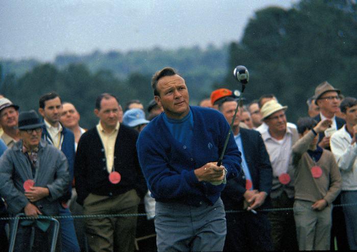 Arnold Palmer ở vị trí thứ 3