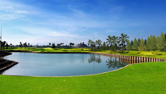The fifth hole at BRG Danang Golf Resort's Nicklaus Course.
